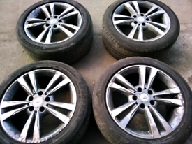 17 inch mercedes alloy wheels for sale call today