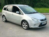 2010 60 Silver Cmax 1.6 TDCI Zetec Family Car Immaculate FSH Cheap Quality Motor