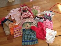 12-18 month lot of girl clothes