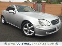 2003 MERCEDES-BENZ SLK230 KOMPRESSOR 2.3L AUTO SPORTS CONVERTIBLE