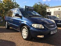 2002 Chrysler Voyager 2.5CRD LX Diesel 10 Months Mot New Flywheel 7 Seater