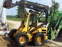 L553 New Holland skid steer