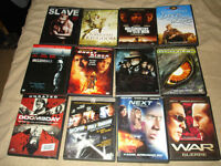 12 DVDs for $10.00
