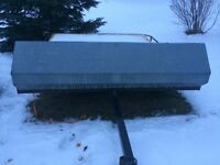 Double snowmobile trailer  trade or sell