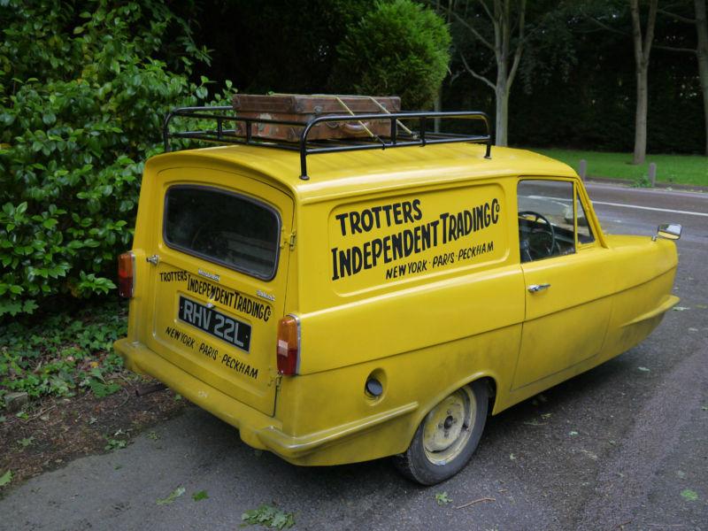 reliant regal 21e supervan iii 1973 l trotter van to. Black Bedroom Furniture Sets. Home Design Ideas
