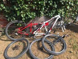 2 specialised hardrock sport bikes