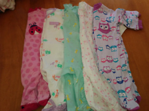Pyjamas 3 mois fille