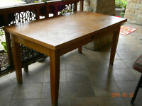 Silent Auction - Oak Table and 4 Chairs