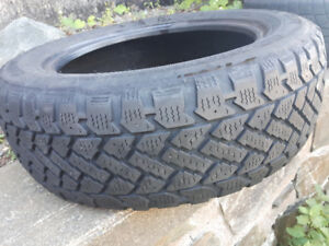 for sale one tire, 205/55r16 winter tire, decent thread
