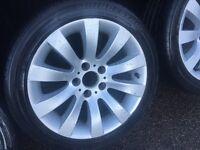 BMW 3 series 5 series VW transporter t4 t5 5120 BMW VW alloy wheels tyres genuine bbs
