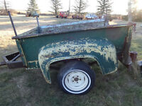 1953 1954 1955 1956 ford mercury shortbox trailer SOLD !!!!