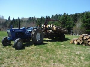 Tractor and Log loader fore sale