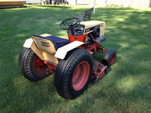 "Case 444 lawn tractor 44"" mower"