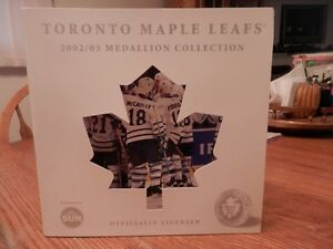 TORONTO MAPLE LEAFS MEDALLION COLLECTION