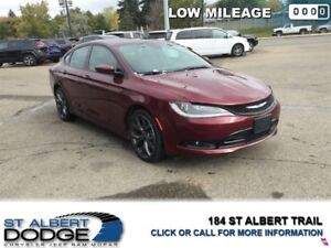 2016 Chrysler 200 S  | LEATHER | HEATED SEATS | BACK CAM