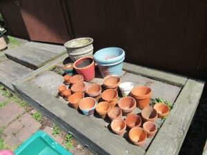 PLANT POTS - CLAY / TERRA COTTA - REDUCED!!!!
