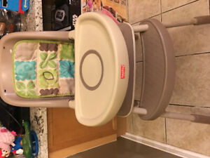 Baby high chair - fisher price