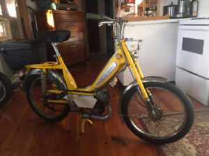 Classic Motobecane Cady moped with ownership