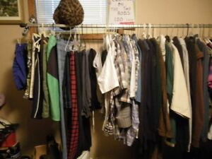 Mens and Ladies Clothes also scarves and mens belts..