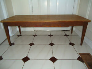 1965 SOLID WOOD COFFEE TABLE - KNECHTEL FURNITURE