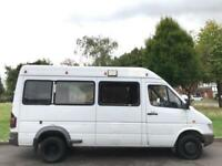 MERCEDES-BENZ SPRINTER 412 D (1997) 2.9 TD WINDOW VAN TWIN REAR WHEELS