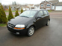 Chevrolet Aveo Better MPH than a Honda Civic financing Available