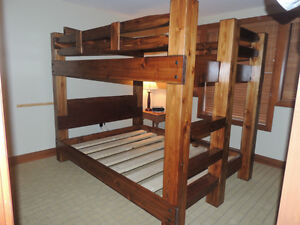 Hand crafted Timber bunk beds in Fanny bay Comox / Courtenay / Cumberland Comox Valley Area image 9