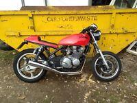 Cafe racer Kawasaki zr 550 1995 moted
