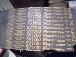 GOODYEAR 5/5V1700 MATCHMAKER 5-BAND 170 IN 3-3/8 IN V-BELT