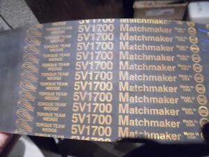GOODYEAR 5/5V1700 MATCHMAKER 5-BAND 170 IN 3-3/8 IN V-BELT