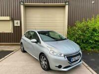 (62) 2013 Peugeot 208 1.2 VTi Access+ 3dr Hatchback Silver Petrol Ideal 1st Car