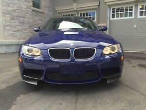 2011 BMW M3 COUPE ONE OWNER INTERLAGOS BLUE