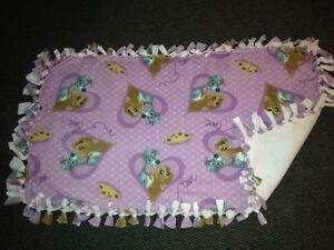 Lady and the Tramp handmade fleece blanket