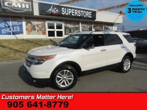 2015 Ford Explorer XLT  LEATHER CAM 6-PASS 2X-P/SEATS SYNC PWR-G