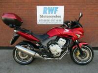 Honda CBF 600 SA, ABS, 2009, 59 REG, 23,662 MILES, VGC, TOP BOX, 12 MONTHS MOT