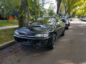 Jdm Gc8 headlights and grill