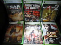 Selected XBOX 360 Games
