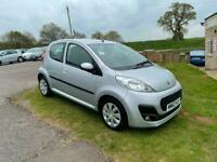 2013 Peugeot 107 1.0 Petrol Manual Silver Active 5dr Hatchback £0 ROAD TAX, AUX