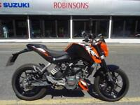 2016 66 Reg KTM Duke 125 ABS 274 Miles