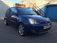 Ford Fiesta 1.25 2008 Zetec Blue Edition with Bluetooth as standard!