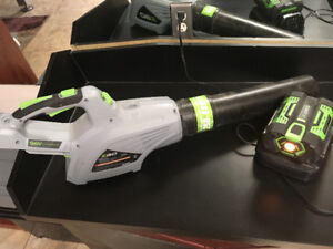 Ego 56v cordless leaf blower great condition