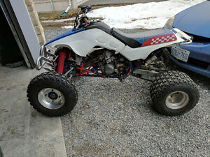 HONDA TRX250R WITH OWNERSHIP