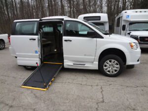 Wheelchair Accessible Minivan with In Floor Ramp