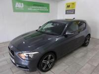 GREY BMW 1 SERIES 2.0 116D SPORT ***FROM £196 PER MONTH***