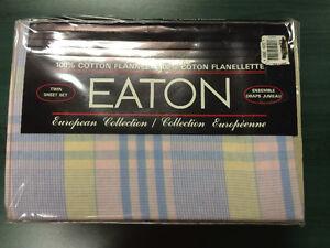 2 Twin-Size Flannel Sheet Sets