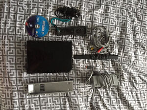 Black Nintendo Wii and Just Dance 3 - Great Condition