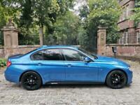 68 PLATE BMW 320d M SPORT DIESEL AUTO 32,697 MILES M PERFORMANCE ESTORIL BLUE