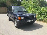 Land Rover discovery td5 s 2001 7 seater long mot