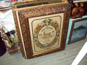 Antique  Religious  OUR FATHER Frame Great looking