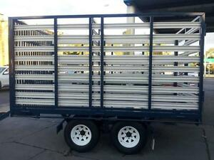 Blyth Built  CATTLE TRAILER with HURDLES BLYTH BUILT Blyth Wakefield Area Preview